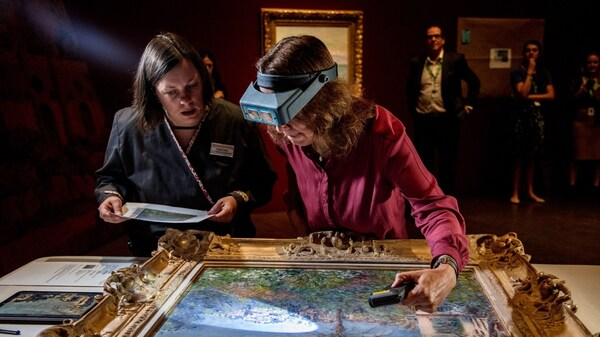 How Do You Move 100+ Monet Masterpieces? Very, Very Carefully