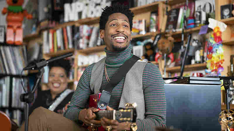 Jon Batiste Premieres New Music At The Tiny Desk