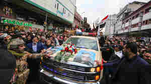 Qassem Soleimani Mourned By Thousands In Baghdad As U.S.-Iran Rancor Mounts