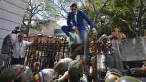Supporters Of Venezuela's Maduro Try To Seize Control Of Legislature