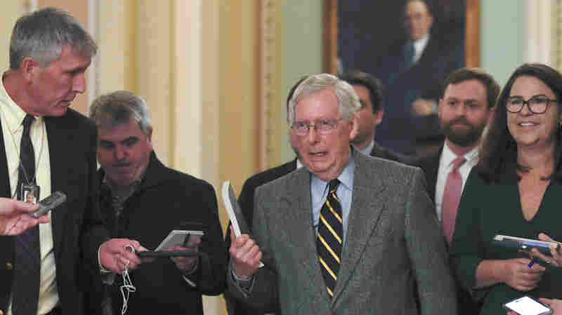 McConnell Will Move Ahead With Impeachment Trial Rules Without Democrats' Support