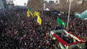 Stampede At Funeral For Iran's Soleimani Kills At Least 32, Injures Scores