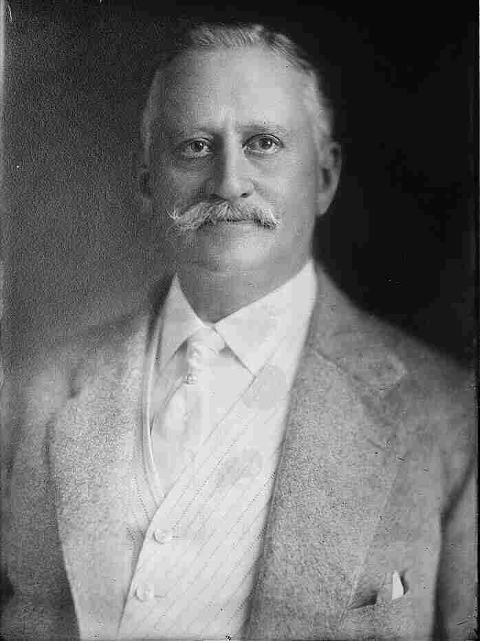 Minor Cooper Keith in 1917. He helped to build Costa Rica's railroad infrastructure and created a banana business that would eventually become United Fruit.