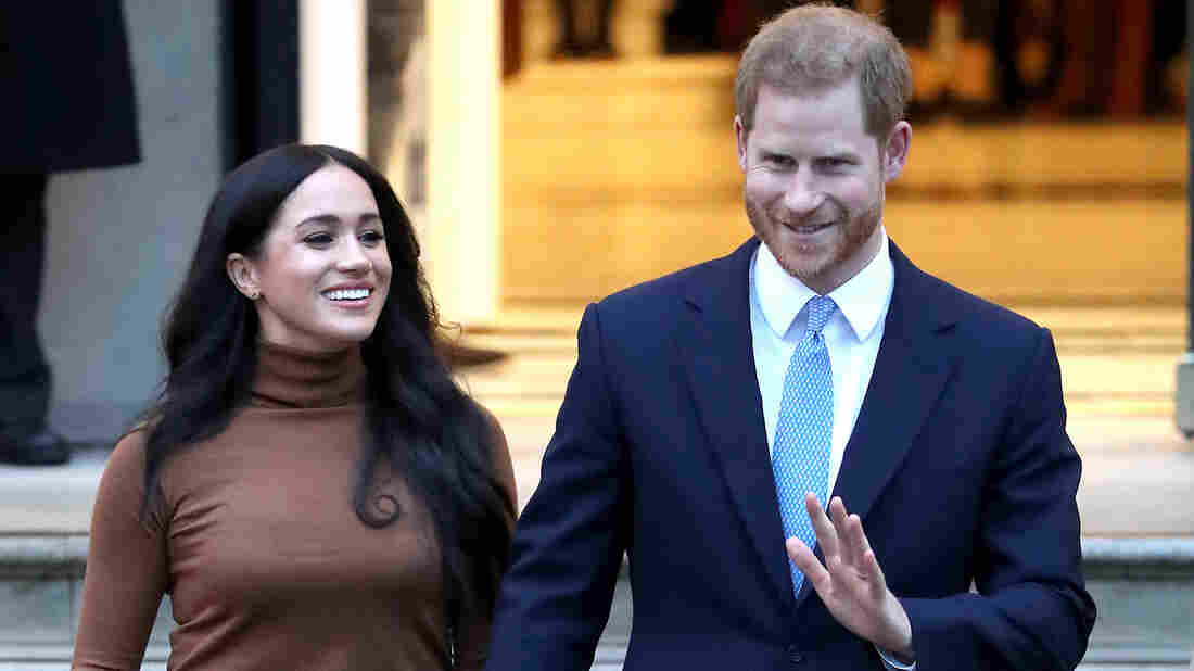 Westlake Legal Group gettyimages-1198227095_wide-a4b11a128d4feb565f1b5d9a99c78ce9a1976cda-s1100-c15 Meghan And Prince Harry To 'Step Back' As Senior Royals