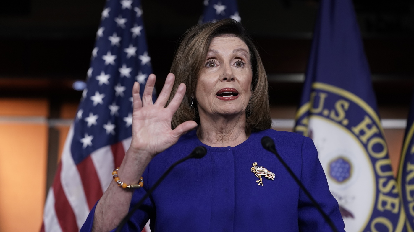 Pelosi Signals An End To Her Hold On Articles Of Impeachment thumbnail