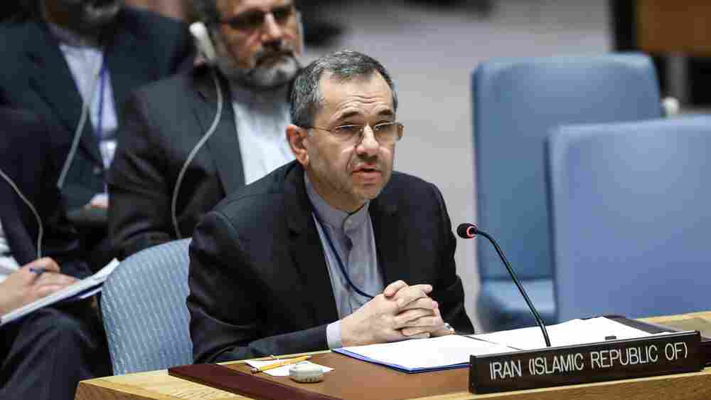 Iran's U.N. Ambassador: Strike On U.S. Bases Was 'Measured, Proportionate Response'