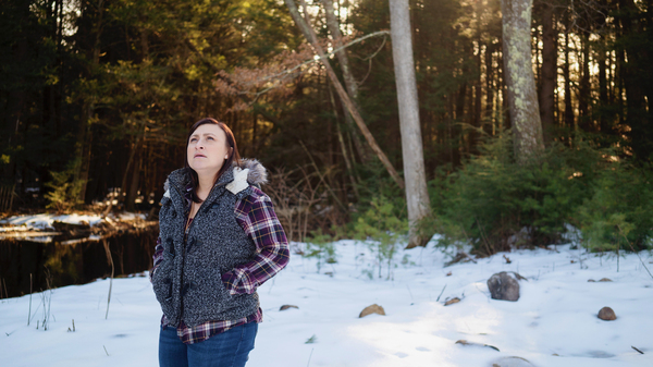 Jennifer Ford of Oakham, Mass., went through serious postpartum depression after her second pregnancy. She got help from her obstetrician, after he connected with a statewide program that supports doctors.