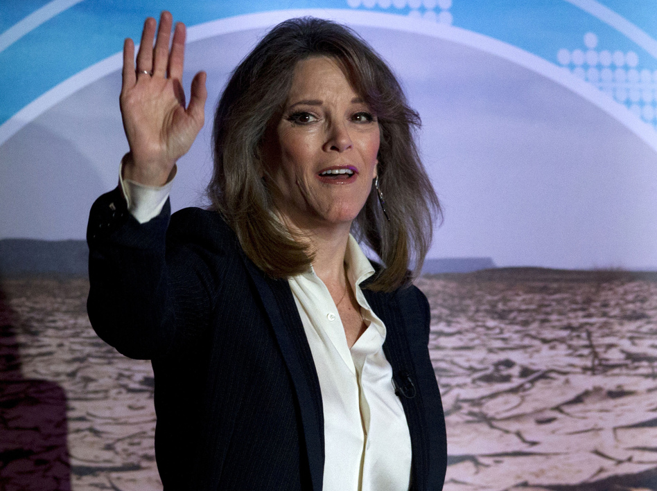 Democratic presidential candidate author Marianne Williamson had qualified only for the first two Democratic debates this past summer but she did garner an Internet following. (Jose Luis Magana/AP)