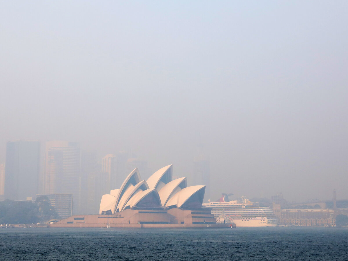 Australia's fires are emitting vast amounts of carbon