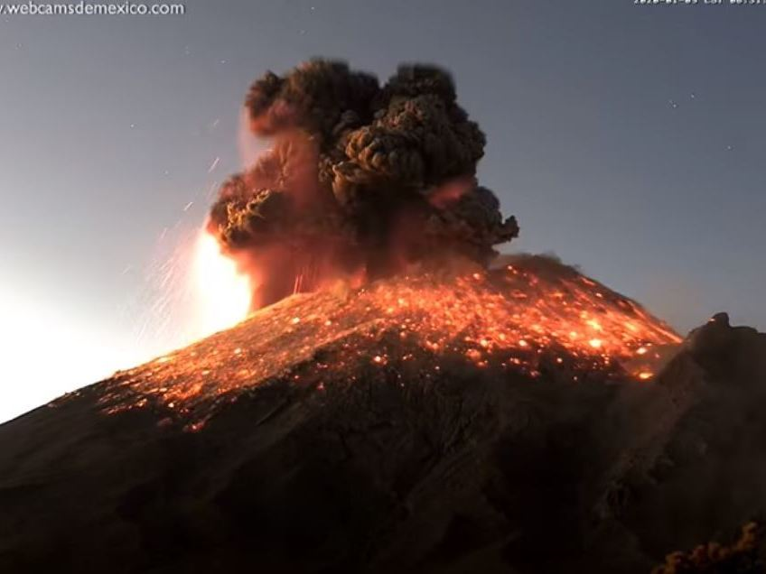 Video: Mexico's Most Active Volcano Erupts, Spews Ash Cloud Nearly 20,000 Feet