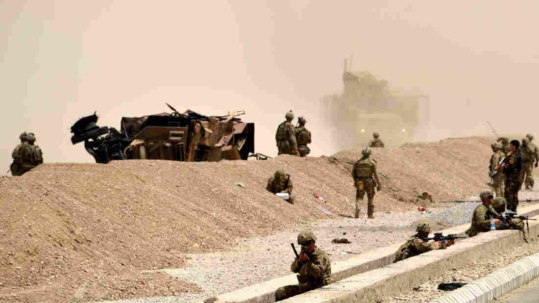 Westlake Legal Group gettyimages-825484594_wide-66963e9a76d8df443efed49dbe837ea8b92520fa-s1100-c15 2 U.S. Troops Killed By Taliban Bomb In Southern Afghanistan