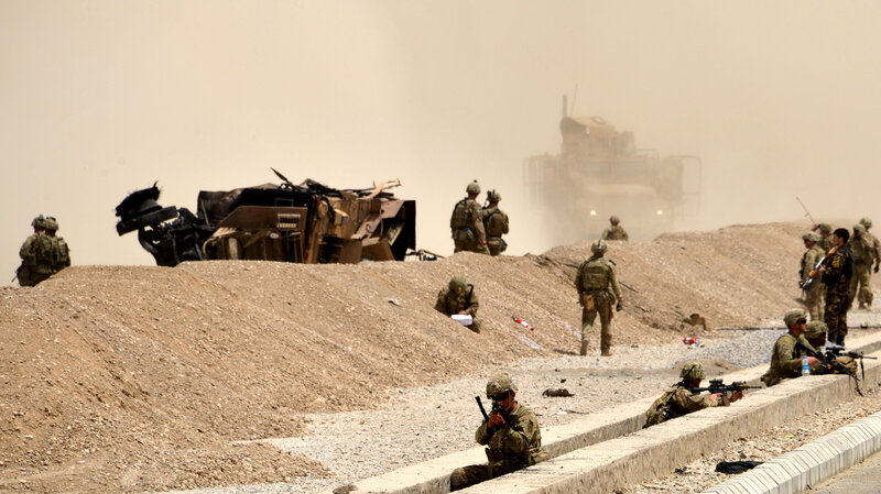 How's that career choice working out for ya?: 2 U.S. Troops Killed By Taliban Bomb In Southern Afghanistan Gettyimages-825484594_wide-66963e9a76d8df443efed49dbe837ea8b92520fa-s800-c85