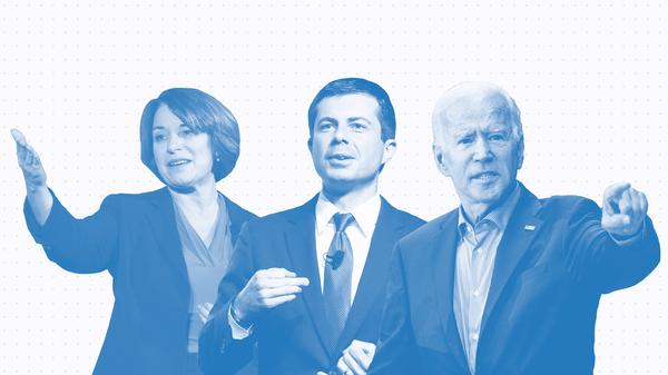 Issue Tracker: Amy Klobuchar, Pete Buttigieg, Joe Biden