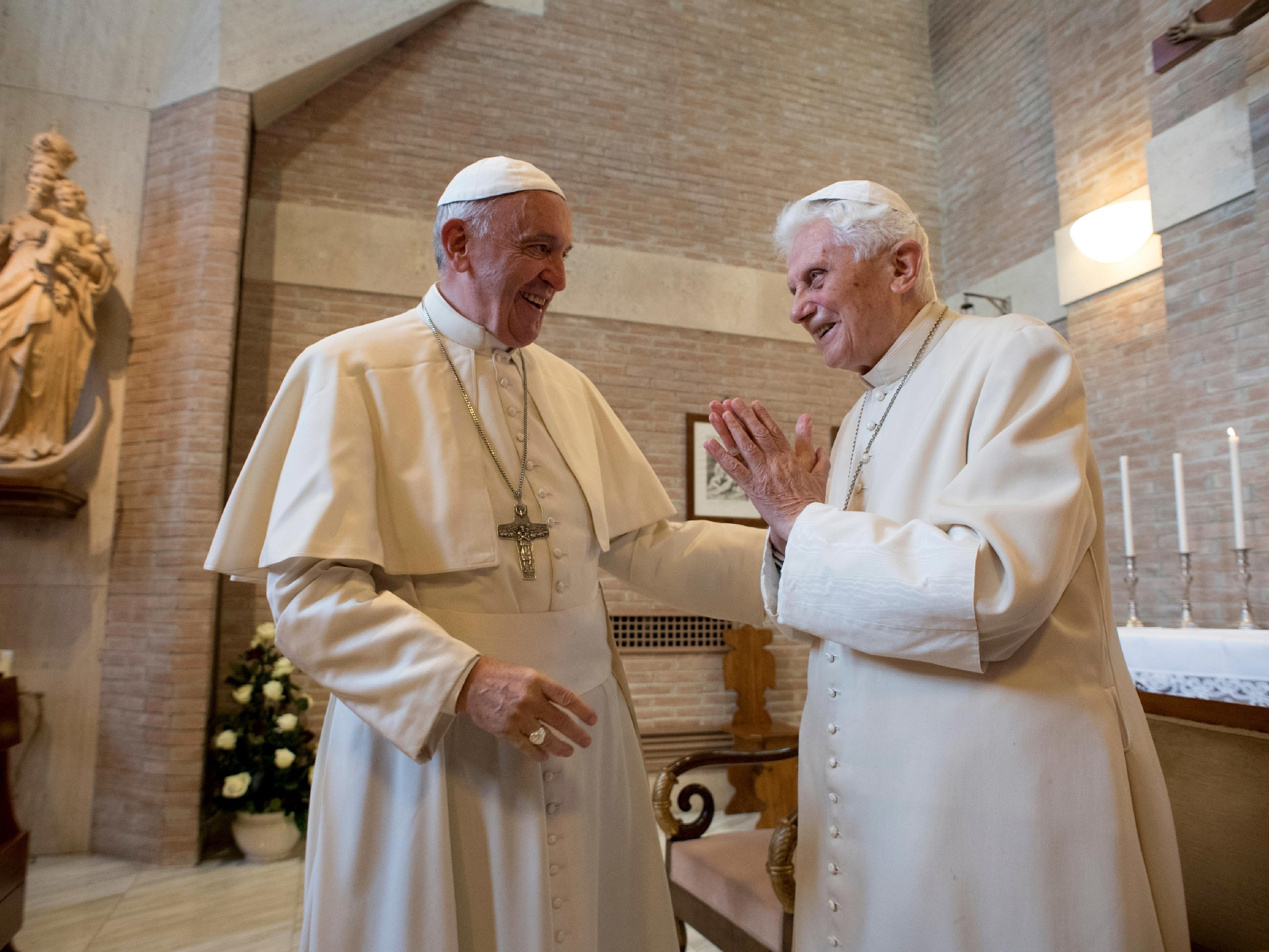 In New Book, Retired Pope Benedict Breaks Silence To Speak Out On Priestly Celibacy