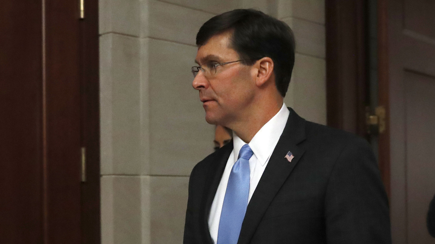 Esper: U.S. Could Strike Iran Or Proxies 'Where Legally Available And Appropriate' thumbnail