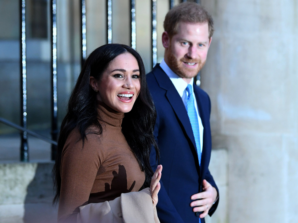 Prince Harry and Meghan, the Duchess of Sussex, seen here last week in London, conferred with other members of the royal family on Monday to discuss their status going forward. (Daniel Leal-Olivas/Getty Images)