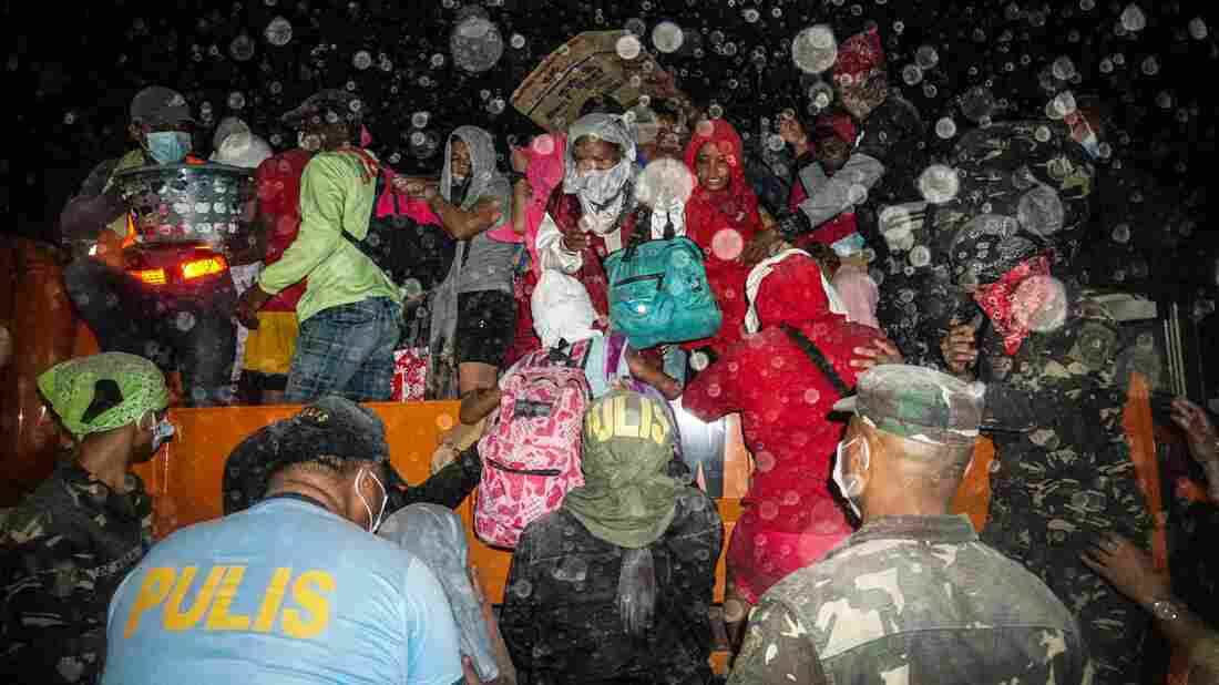 Westlake Legal Group gettyimages-1193404111_wide-46e2c875e80cdfedf98e3fc97efca7f92e8cb72b-s1100-c15 Volcanic Eruption In Philippines Causes Thousands To Flee