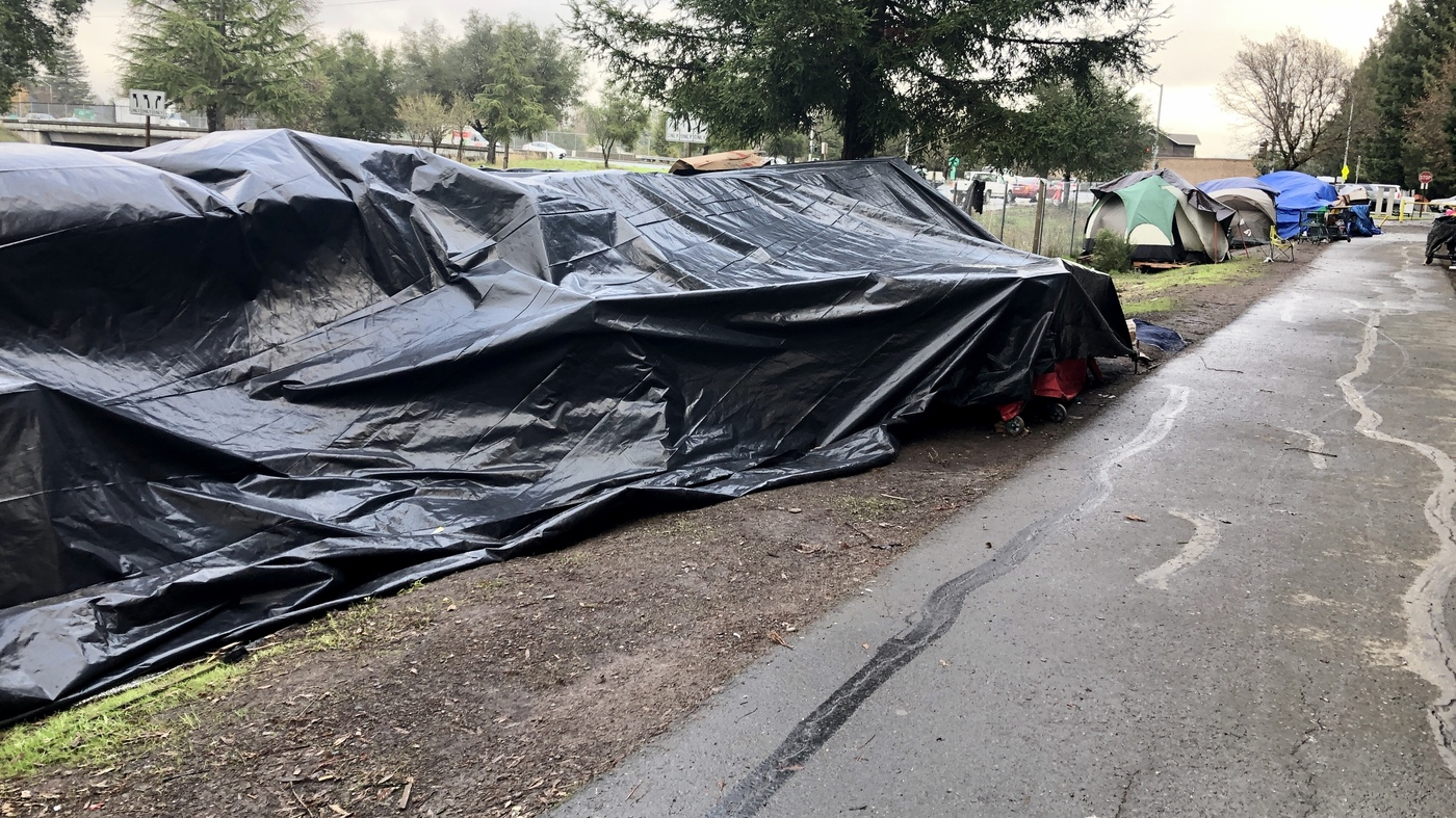 Sprawling Homeless Camps — Modern 'Hoovervilles' — Vex California