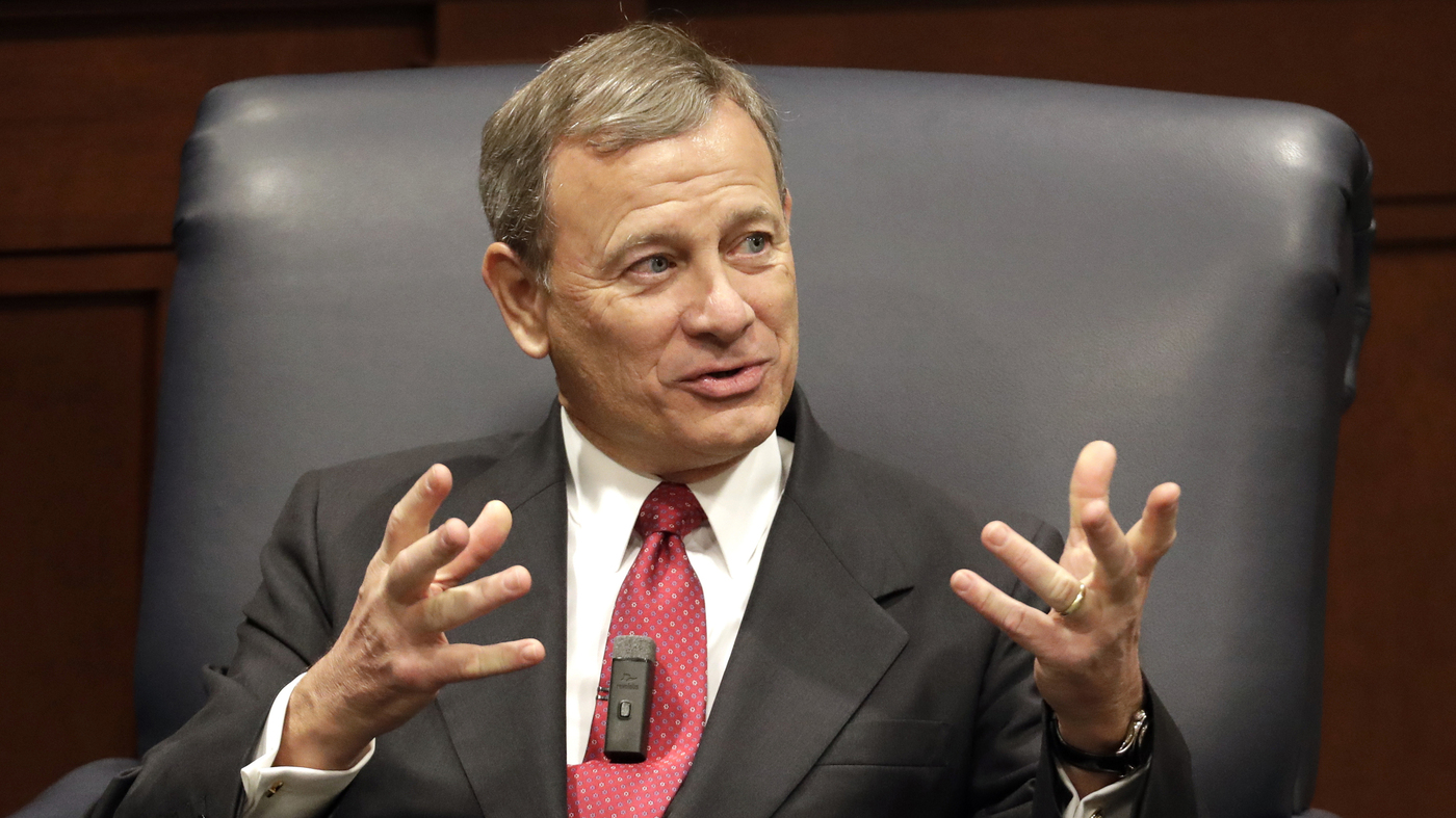 Chief Justice Roberts: Is 'OK, Boomer' Evidence Of Age Discrimination? : NPR