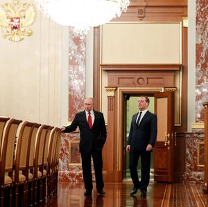 Russia's Government Resigns As Putin Moves To Change The Constitution