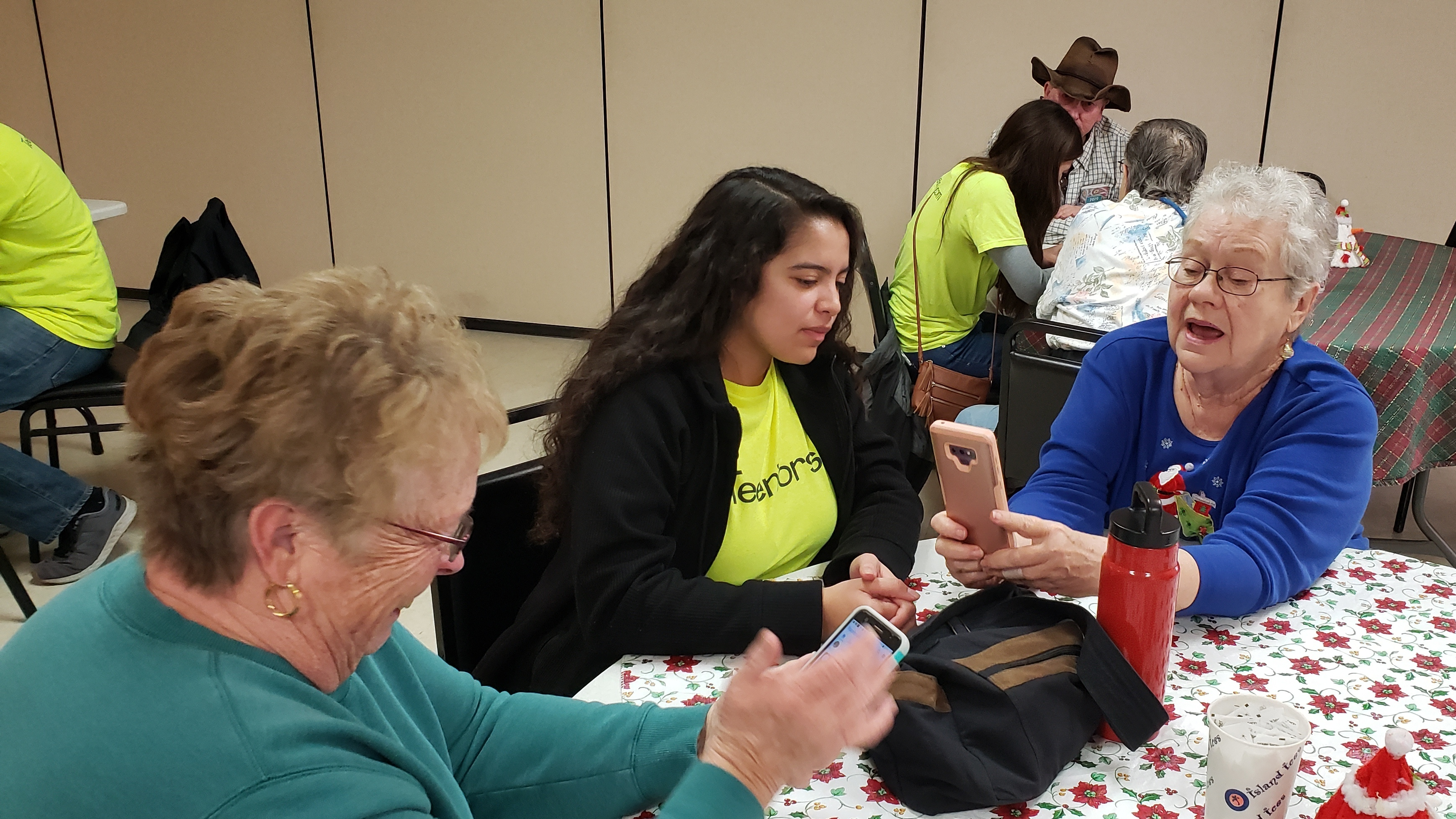 Youth Teaching Tech To Seniors Fosters Generational Connections