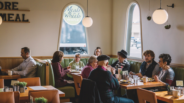 The Diner, which is a project of Meals on Wheels People in Vancouver, Wash., provides community in addition to meals for seniors enrolled in the program.