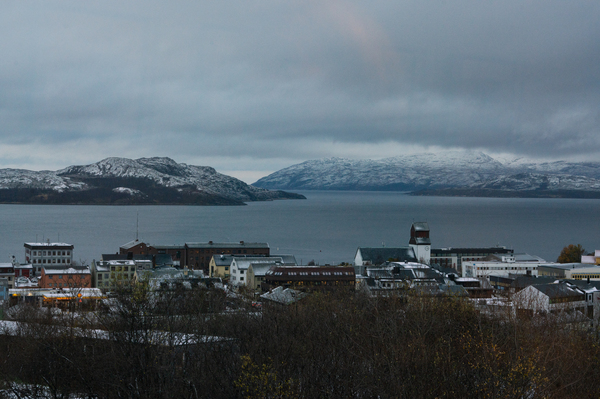 Kirkenes is known for its views of the Northern Lights.