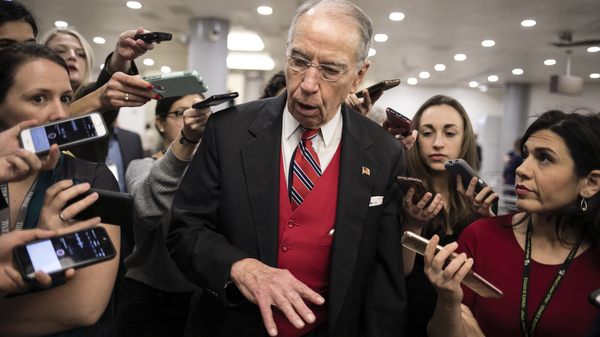 Reporters Challenge New Restrictions In Trying To Cover Senate Impeachment Trial