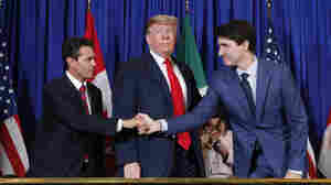 Senate OKs North American Trade Deal To Replace NAFTA, Giving Trump A Much-Needed Win