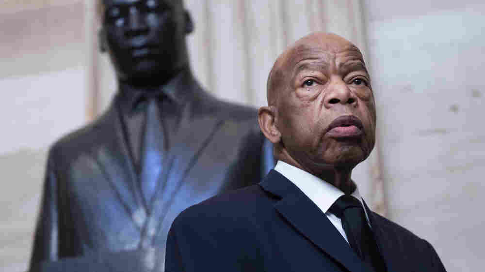 Rep. John Lewis' Fight For Civil Rights Began With A Letter To Martin Luther King Jr.