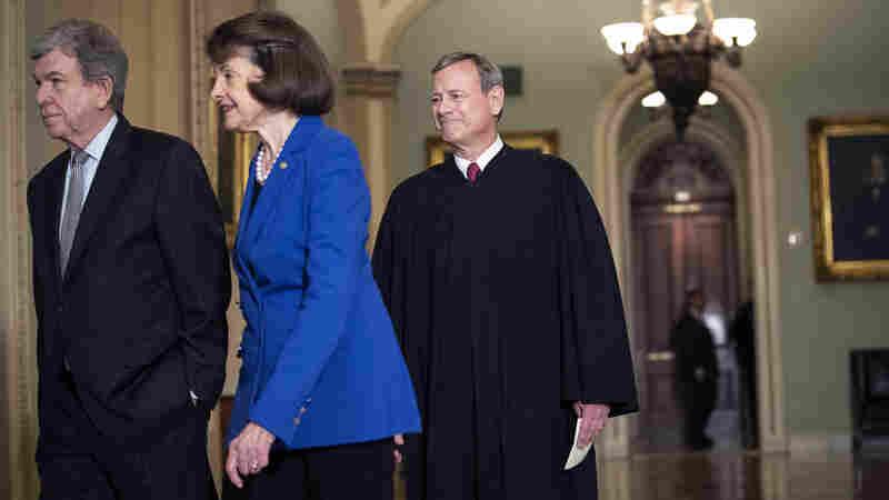 Senators Swear To Render 'Impartial Justice' In Impeachment Trial