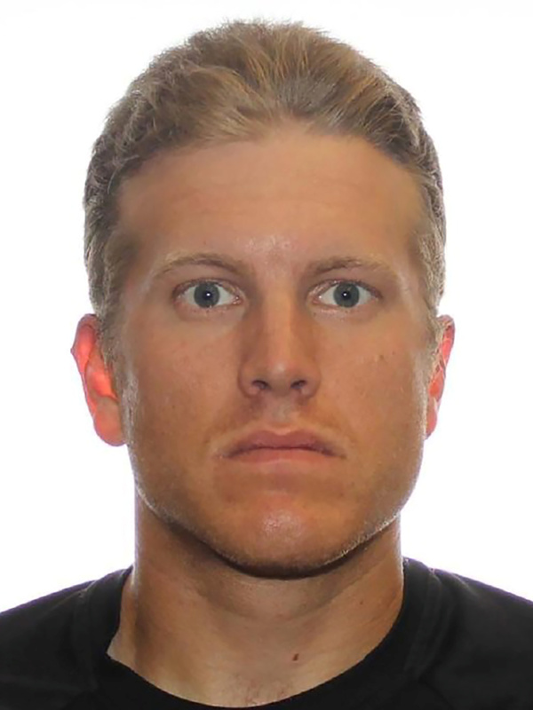 Former Canadian military reservist Patrik Jordan Mathews and two Americans face charges related to possessing an illegal assault rifle, as part of an extremist group called The Base. Mathews is seen here in an undated picture from the Royal Canadian Mounted Police in Winnipeg, Manitoba, last August.