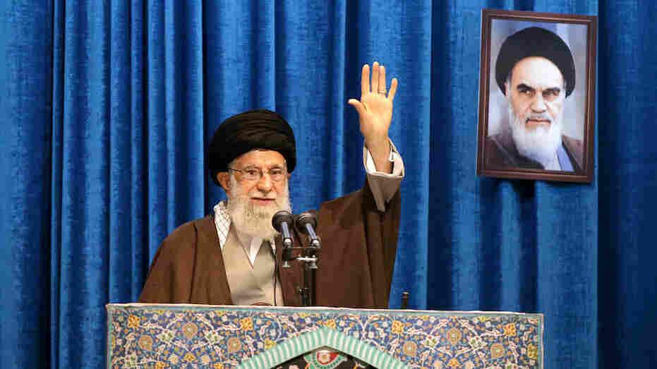 Westlake Legal Group ayatollah-iran-speech_wide-e122adafe9b107b7af33c156e1ac77da052570d7-s1100-c15 Iran's Ayatollah Slams 'American Clowns' In Rare Friday Prayers Sermon