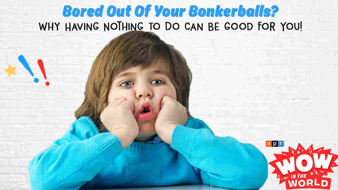 """Bored out of your bonkerballs with nothing to do? Turns out, being bored can be good for you! A new study from the United Kingdom suggests that periods of boredom are crucial for anyone looking to get their creativity on! Join Mindy and Guy Raz for the Paint Drying World Championships, and a mind-numbing fact-finding visit to the """"Institute of Boredom"""