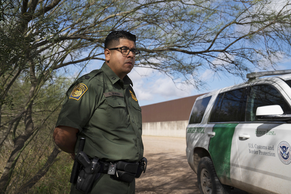 """""""The border wall system will include a 150-foot enforcement zone, lighting, cameras, other technology, and most importantly an all-weather access road making it easier to respond to traffic,"""" Christian Alvarez, a Border Patrol spokesman, says."""