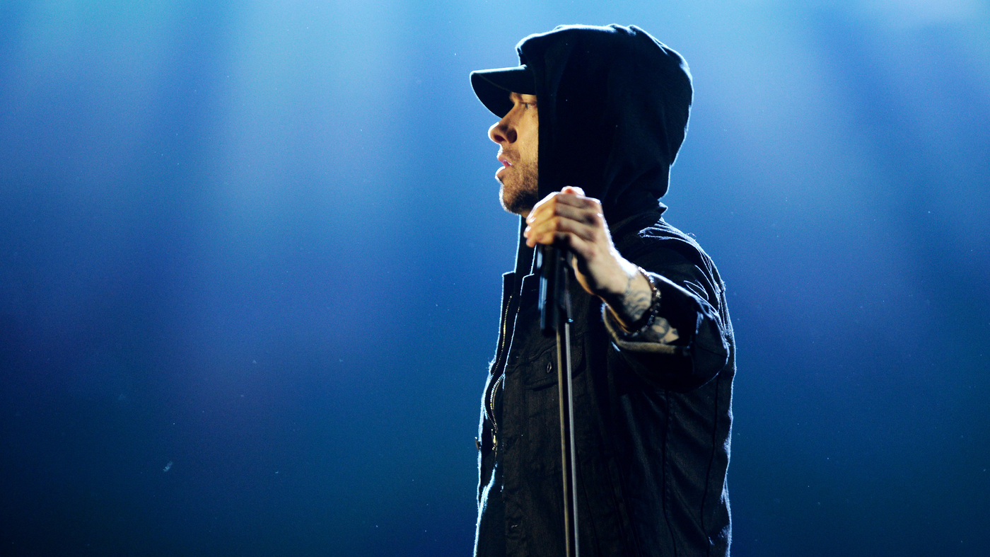 Eminem Releases New Album, 'Music To Be Murdered By' And 'Darkness' Video : NPR