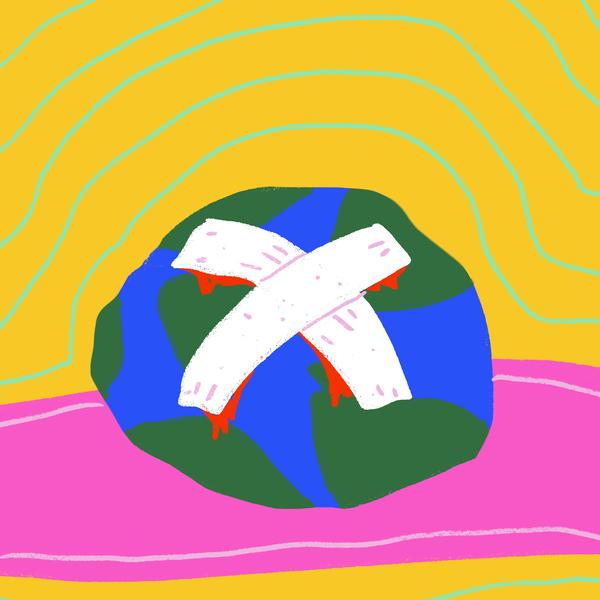 bandaged earth