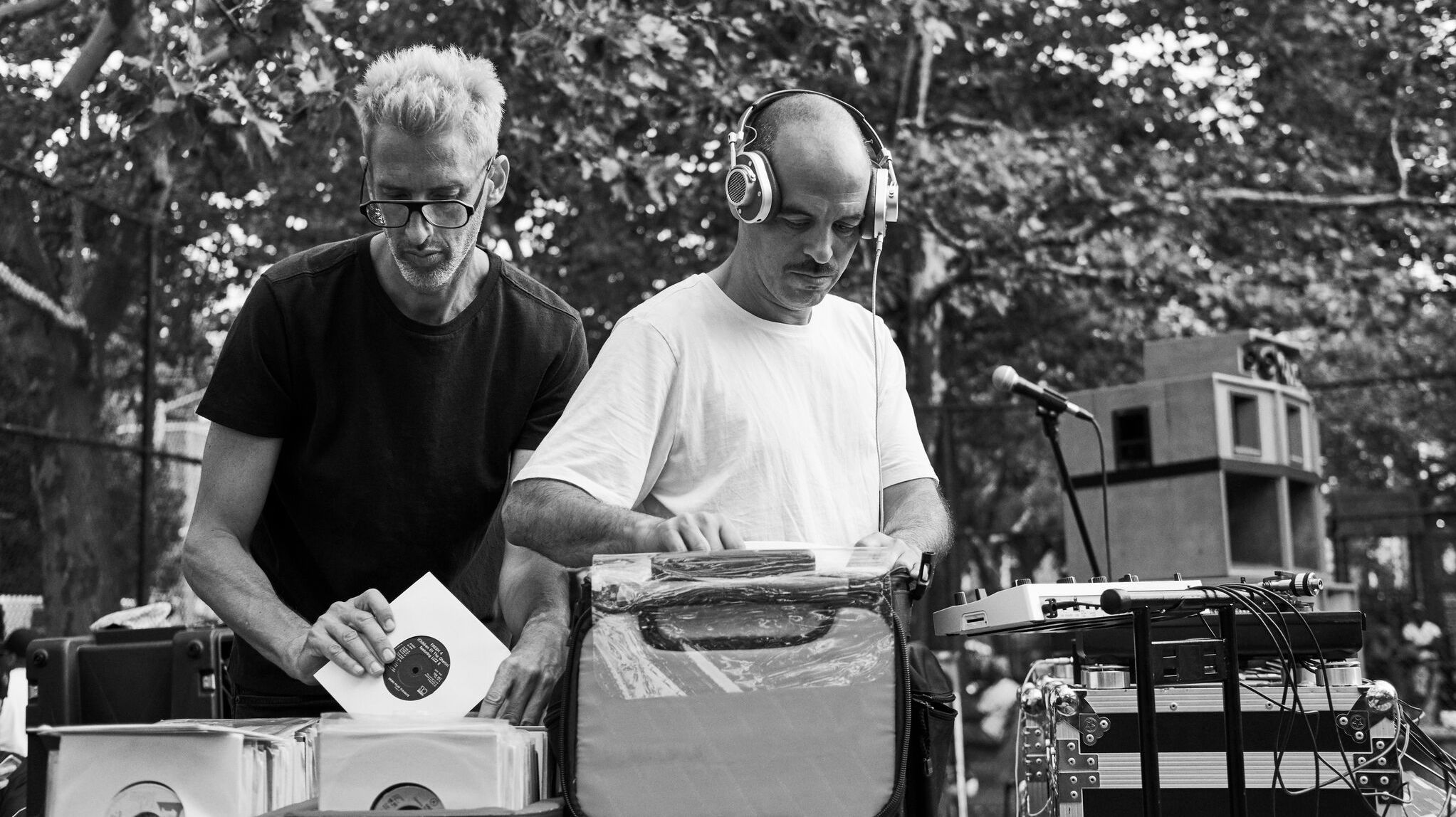 On Their Debut Album, Stretch And Bobbito Are Taking 'No Requests'