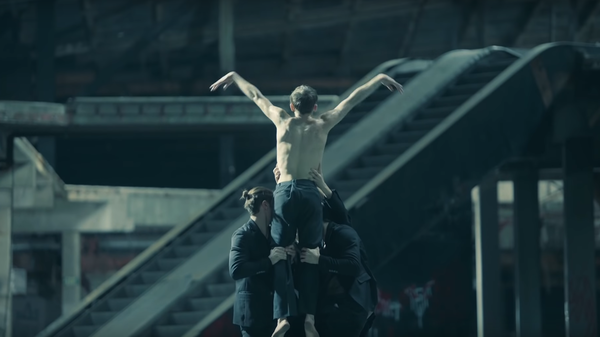 Members of the MN Dance Company appear in the video for BTS