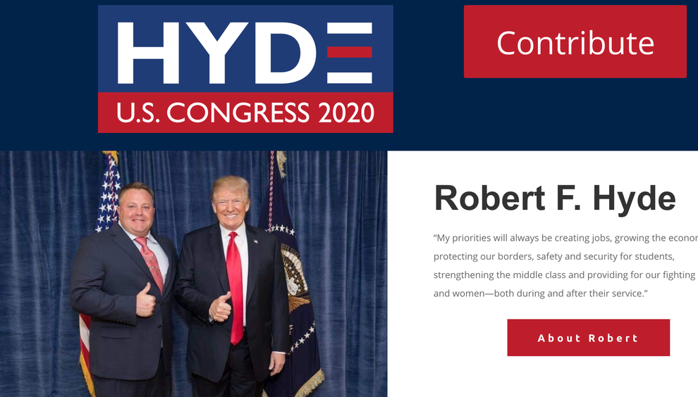 From Obscurity To Impeachment Figure: Who is Robert Hyde?