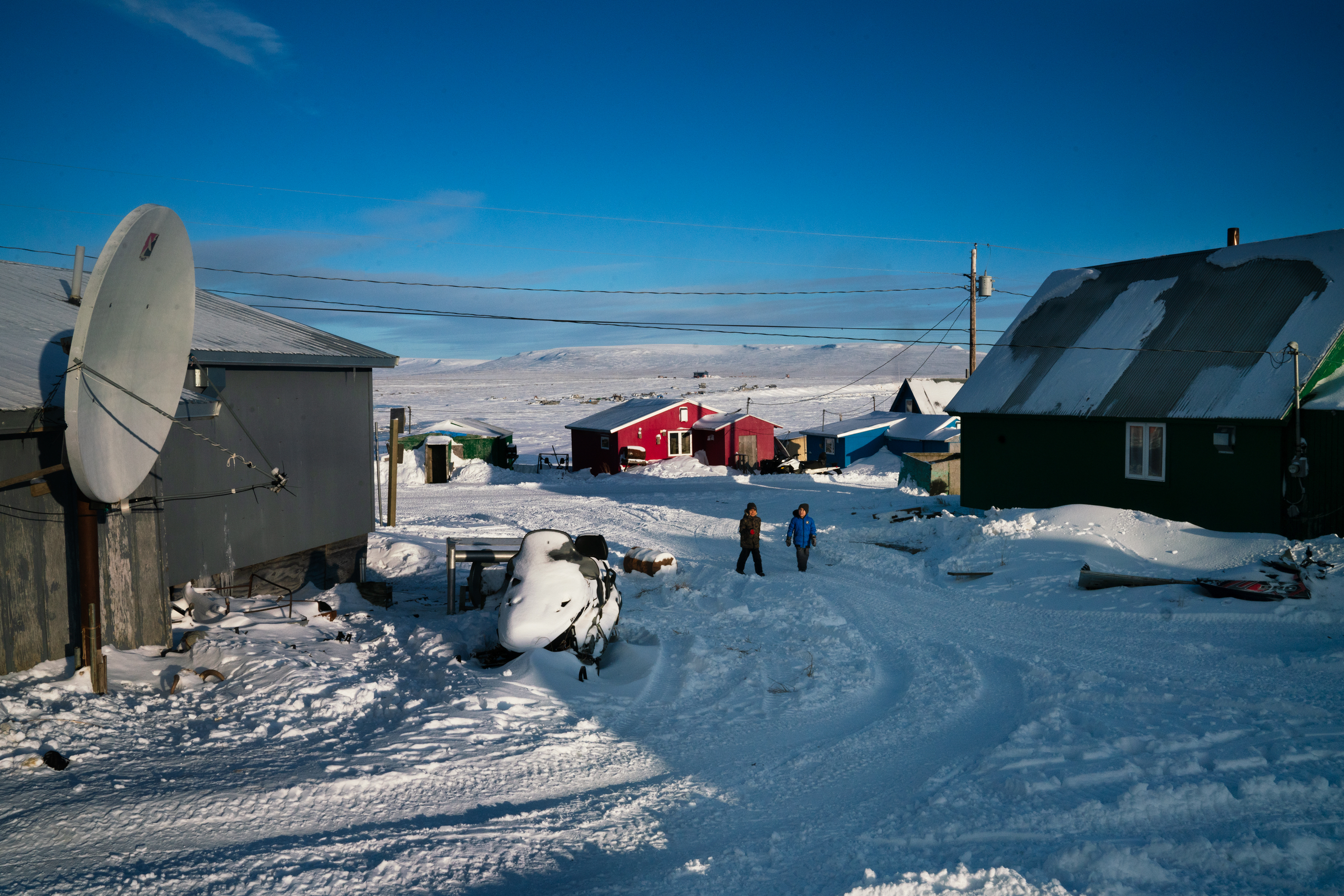 Along The Rim of Alaska, The Once-A-Decade U.S. Census Begins In Toksook Bay