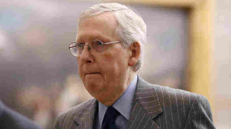 McConnell Lays Out Plan For Senate Impeachment Trial Procedure