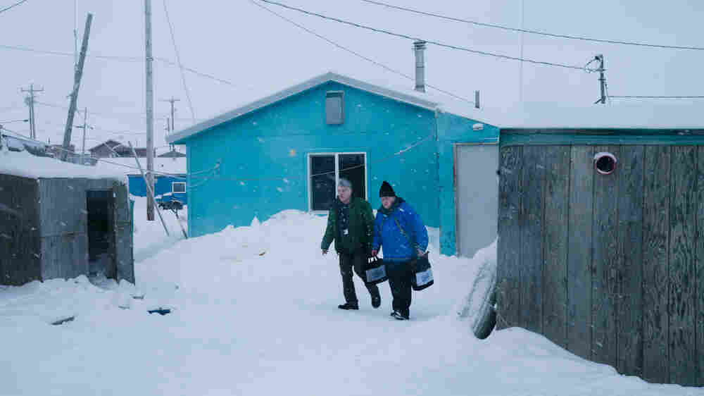 Along The Rim of Alaska, The Once-A-Decade U.S. Census Began In Toksook Bay