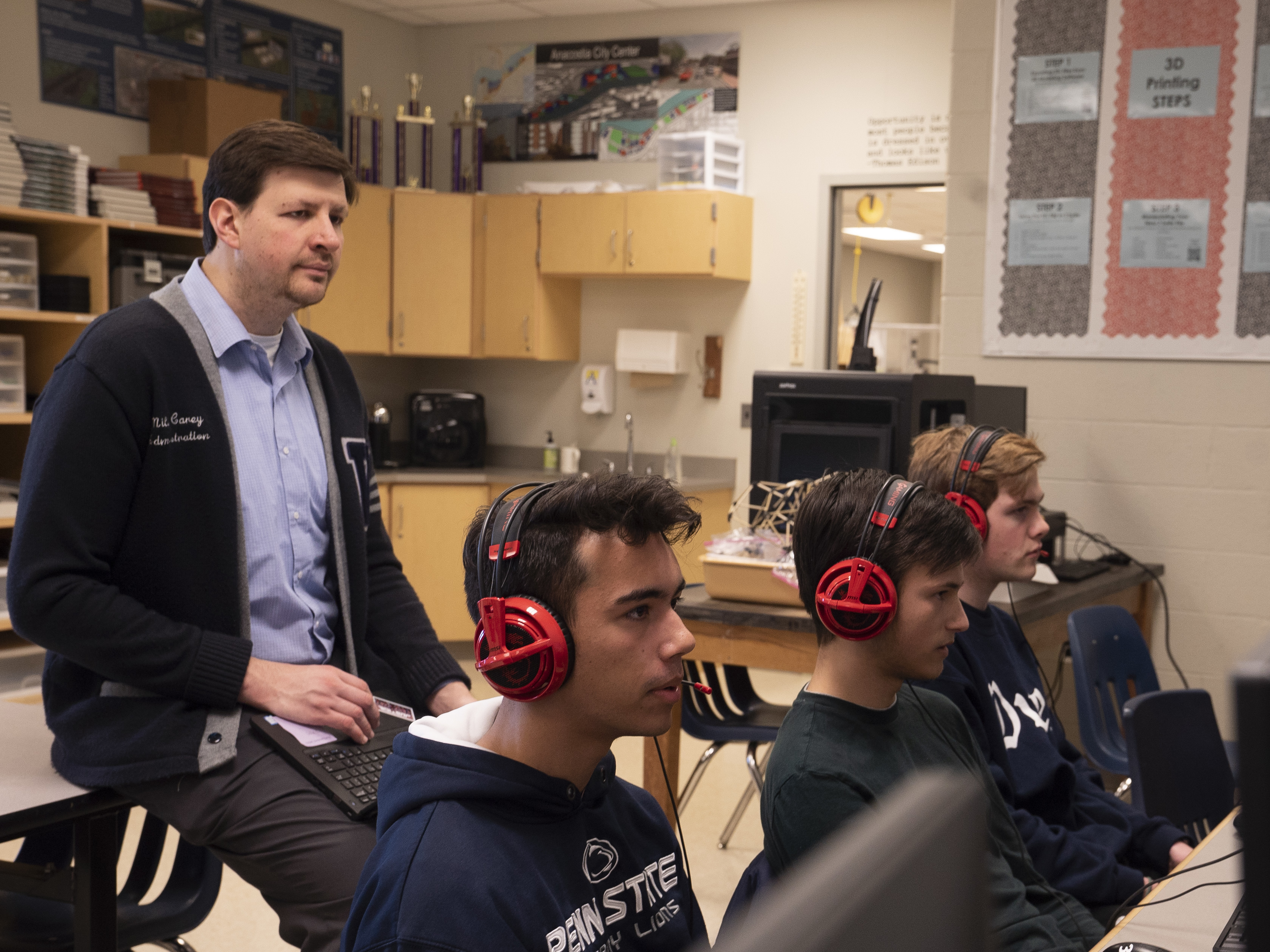 As Esports Take Off, High School Leagues Get In The Game
