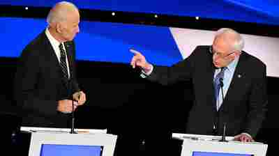 Biden And Sanders Amp Up Criticism As Polls Show Them Separating From Field