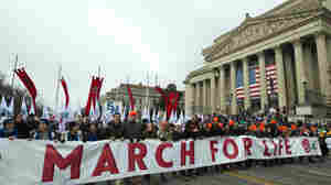 President Trump Faces Friendly Crowd At March For Life