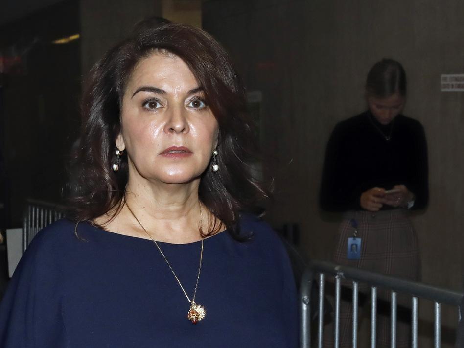 Actress Annabella Sciorra described in detail the alleged assault by Harvey Weinstein during his trial on Thursday. (Richard Drew/AP)
