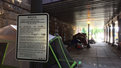 More Single Adults Live On The Street, But D.C. Is Expecting Decrease In Homelessness