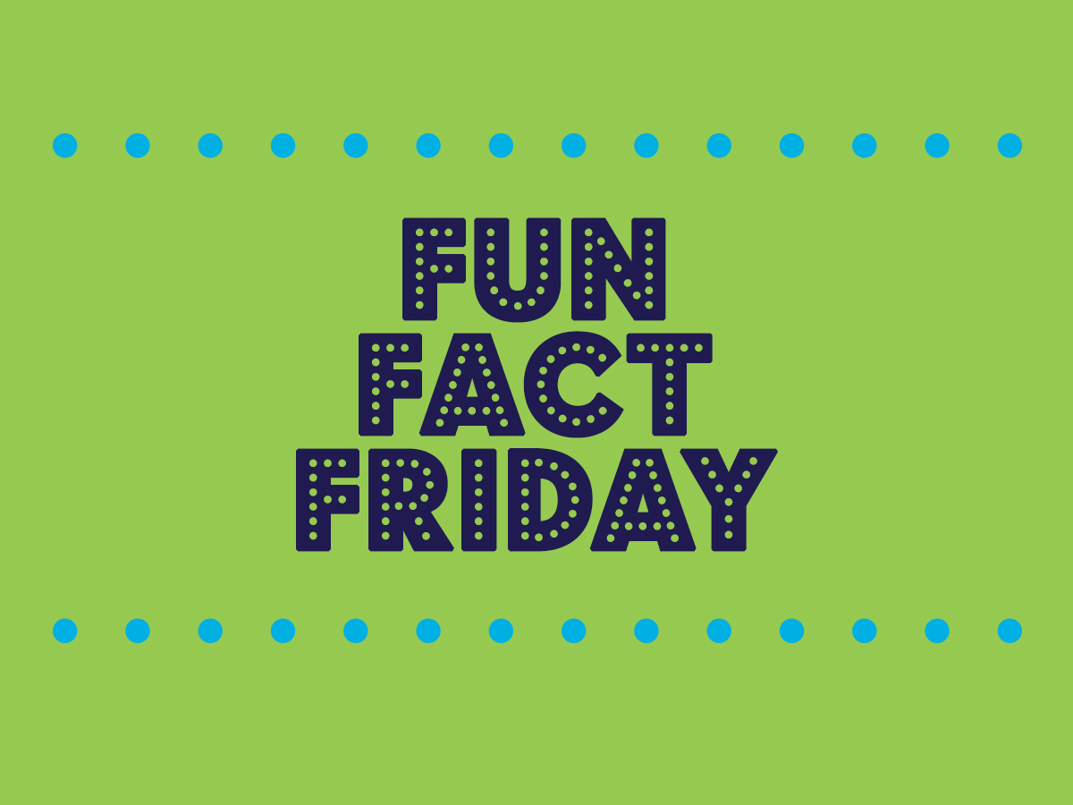 Fun Fact Friday: Aggressively Passive Edition