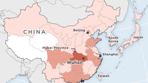 MAP: Confirmed Cases Of Wuhan Coronavirus
